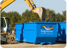 Supremem Disposal bins